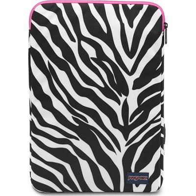 15-Inch 1.0 Laptop Sleeve (Zebra) - T17C