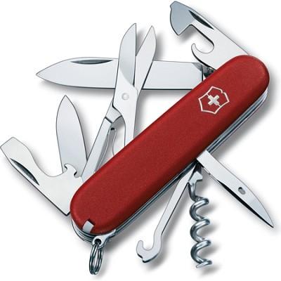 Climber Pocket Knife (Red)