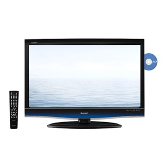 LC32BD60U - High-definition 1080p LCD TV w/ Built-in Blu-ray Disc Player