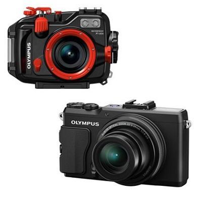 Stylus XZ-2 iHS Digital Camera BLK COMBO PT-054