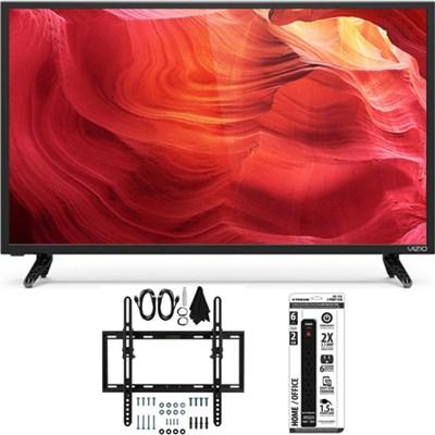 E32h-D1 - 32-Inch SmartCast E-Series LED 720p HDTV Flat + Tilt Wall Mount Bundle