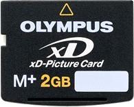 M+2Gig xD Memory Card