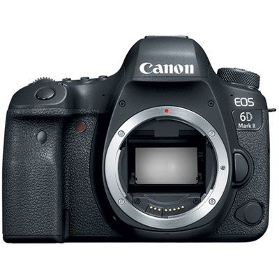 EOS 6D Mark II 26.2MP Full-Frame Digital SLR Camera (Body Only)