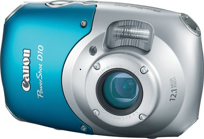 Powershot D10 Waterproof, Freezeproof, Shockproof Digital Camera