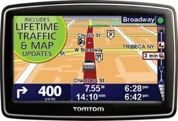 XXL 540TM 5 inch Portable GPS Navigator (Lifetime Traffic & Maps) - OPEN BOX