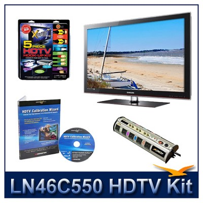 LN46C550 - HDTV + High-performance Hook-up Kit + Power Protection + Calibration