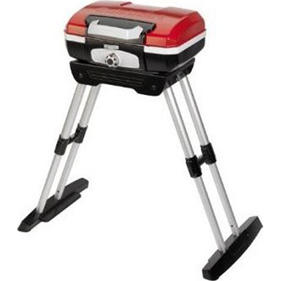 CGG-180 Petit Gourmet Portable Gas Grill with VersaStand - OPEN BOX