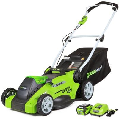 G-MAX 40V Lithium-ion 16-inch Cordless Lawn Mower (25322)
