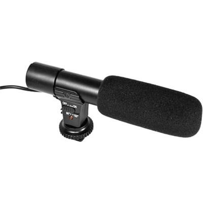 Universal Mini Condenser Shotgun Microphone for Digital Cameras (UM-MIC100)