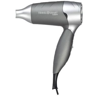 1200W Folding Hair Dryer in Silver - TS129