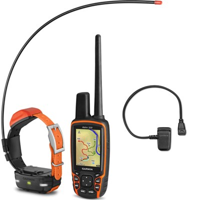 Astro 320 Handheld and T 5 mini Dog Training Device - Charging Clip Bundle
