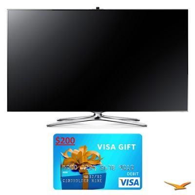 UN60F7500 60` 1080p 240hz 3D Smart WiFi LED HDTV Bundle