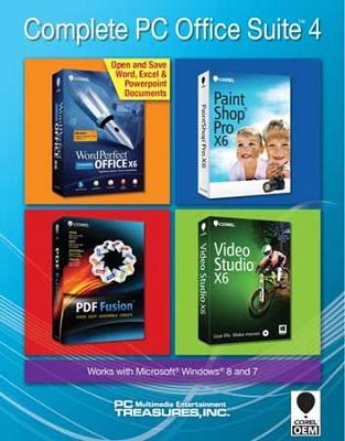 Complete PC Office Suite 4 (Bundle Version Only)