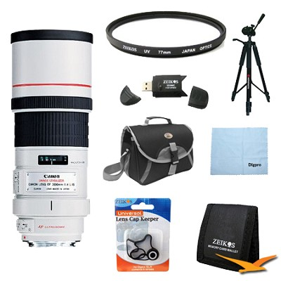 EF 300mm F/4.0 L IS Lens Exclusive Pro Kit