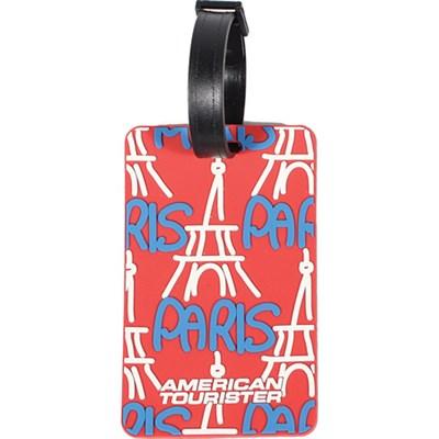 Paris City Luggage Tag