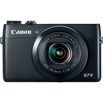 PowerShot G7 X 20.2MP 4.2x Optical Zoom Digital Camera