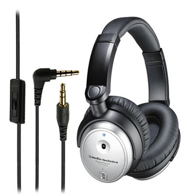 ATH-ANC7B SVis Quitepoint Noise Canceling Headphones With Mic And Remote
