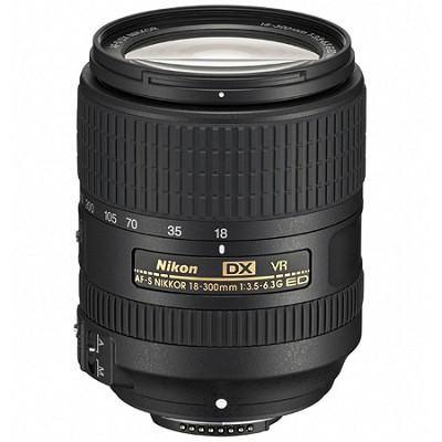 AF-S DX NIKKOR 18-300mm f/3.5-6.3G ED VR Zoom Lens with Auto Focus