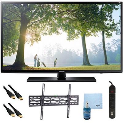 UN40H6203 - 40` 120hz Full HD 1080p Smart TV Plus Tilt Mount & Hook-Up Bundle