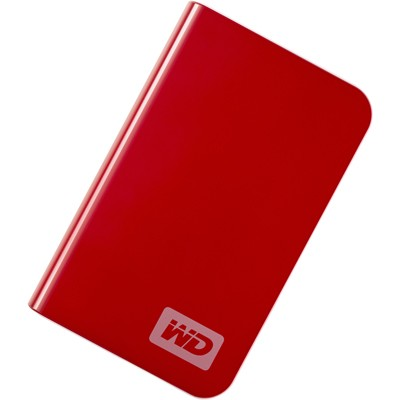 My Passport Essential Portable 500GB `Red` External Hard Drive (WDMER5000TN