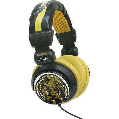 Marvel Comics Extreme DJ-Style Headphones - Iron Man