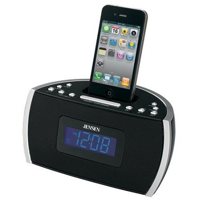 JiMS-125i Docking Digital Music System for iPod & iPhone