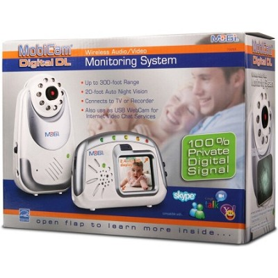 Mobicam Digital Portable Color LCD Wireless Video Baby Monitor (DL70055)