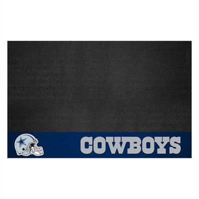 NFL Dallas Cowboys Vinyl Heavy Duty Grill Mat