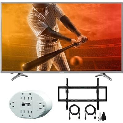 N5000 Full HD 40` Class 1080p WiFi Smart LED TV 40N5000U with Mount Bundle