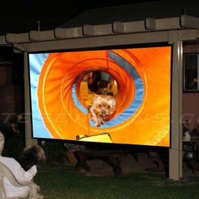 236` Diagonal Outdoor Screen
