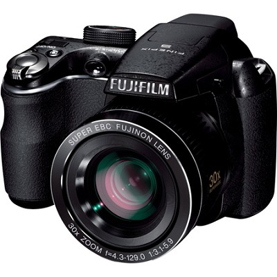 FinePix S4000 14 MP 3` LCD Digital Camera w/ Fujinon 30x Angle Zoom    OPEN BOX