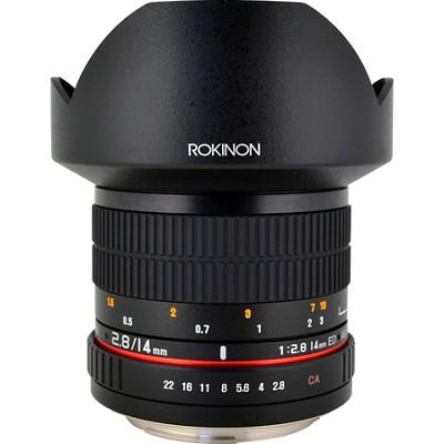 14mm f/2.8 IF ED MC Auto.Super Wide Angle Lens for Nikon DSLR Cameras - OPEN BOX