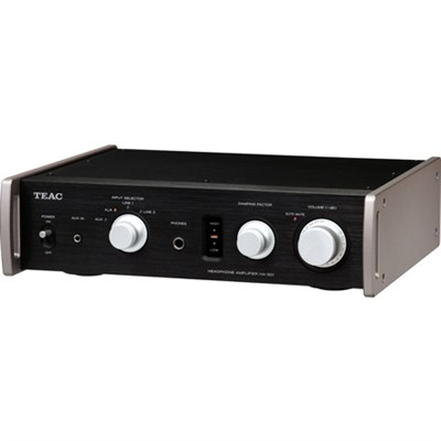 HA-501-B Dual Monaural Headphone Amplifier (Black)