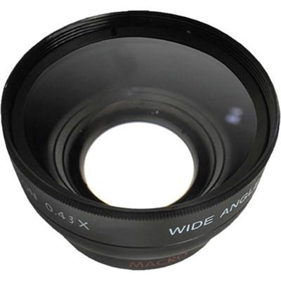 Pro .43x Wide Angle Lens w/ Macro 52mm threading (Black)