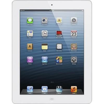iPad 4 with Wi-Fi 32GB - White Model: MD514LL/A or MD514E/A