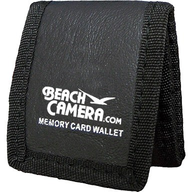 Beachcamera.com  Tri-fold Memory Card Wallet - Stores up to 3 Memory Cards
