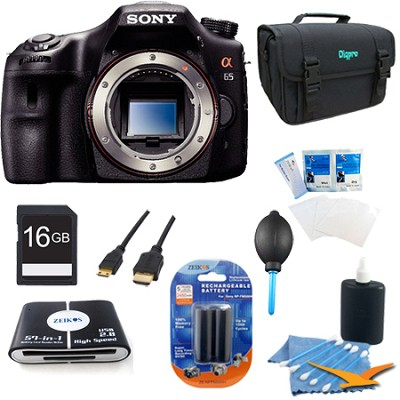 SLTA65V - a65 Digital SLR Camera 24.3 MP Kit