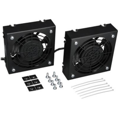 Wallmount Rack Enclosure Cooling Roof Fan Kit - SRFANWM