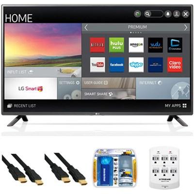 55LF6100 - 55-inch 120Hz Full HD 1080p Smart LED HDTV Plus Hook-Up Bundle