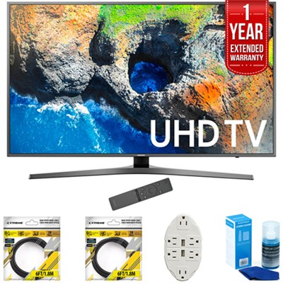 48.5` 4K Ultra HD Smart LED TV 2017 Model with Extended Warranty Kit