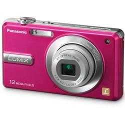 DMC-F3P LUMIX 12.1 Megapixel Digital Camera (Pink)