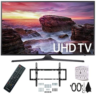 UN55MU6290FXZA Flat 54.6` LED 4K UHD 6 Series Smart TV 2017 Wall Mount Kit