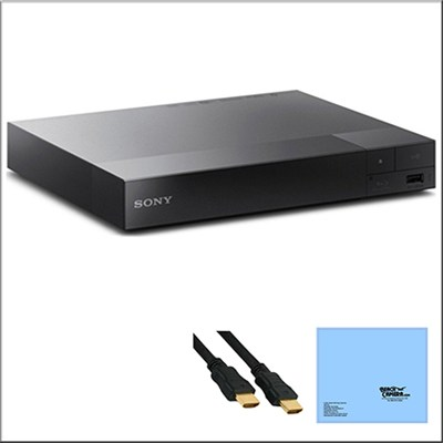 BDP-S3500 Streaming Blu-Ray Disc Player with Super Wi-Fi Technology + Bundle
