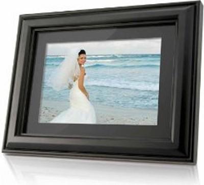 7` (16:9) Photo Frame (Wooden Design)