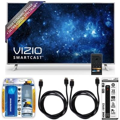 P50-C1 SmartCast P-Series 50` Class Ultra HD HDR TV w/ Accessory Bundle