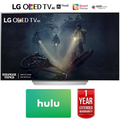 55` OLED HDR Smart TV (2017) w/ $100 Netflix + 1 Year Extended Warranty