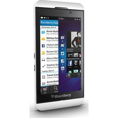 Z10- 16GB - White Unlocked GSM International Smartphone (STL100-1 3G)