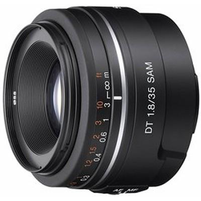 SAL35F18 - DT 35mm f/1.8 SAM Lens for Sony Alpha DSLR's    OPEN BOX