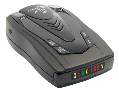 XTR-420 Laser/Radar Detector Battery Operated with Built in Battery Charger
