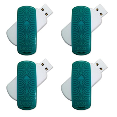 16 GB JumpDrive S33 USB 3.0 Flash Drive 4-Pack (64GB Total)